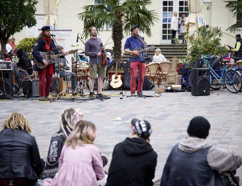 """Teilprojekt von """"KUNST!"""" – Straßenmusik in Rostock"""