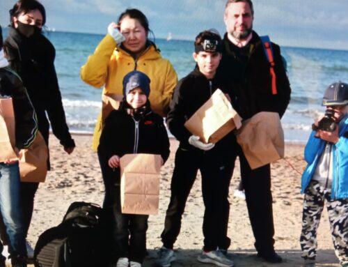 """Projektabschluss """"Müll und Umweltschutz – Ein Videoprojekt mit Flüchtlingskindern"""""""